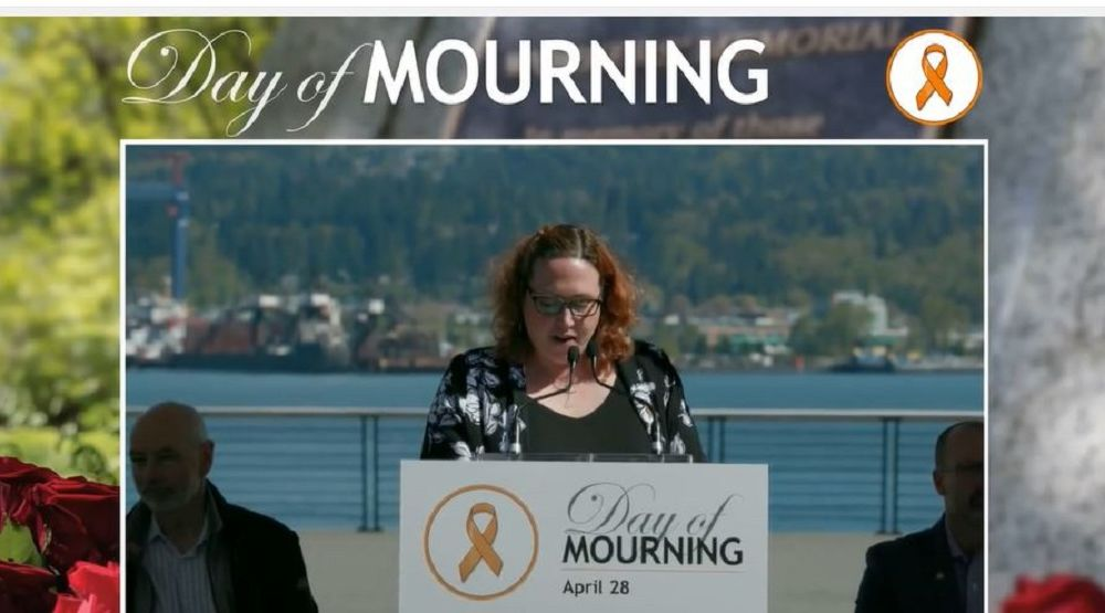 Day of Mourning Vancouver Ceremony, livestream