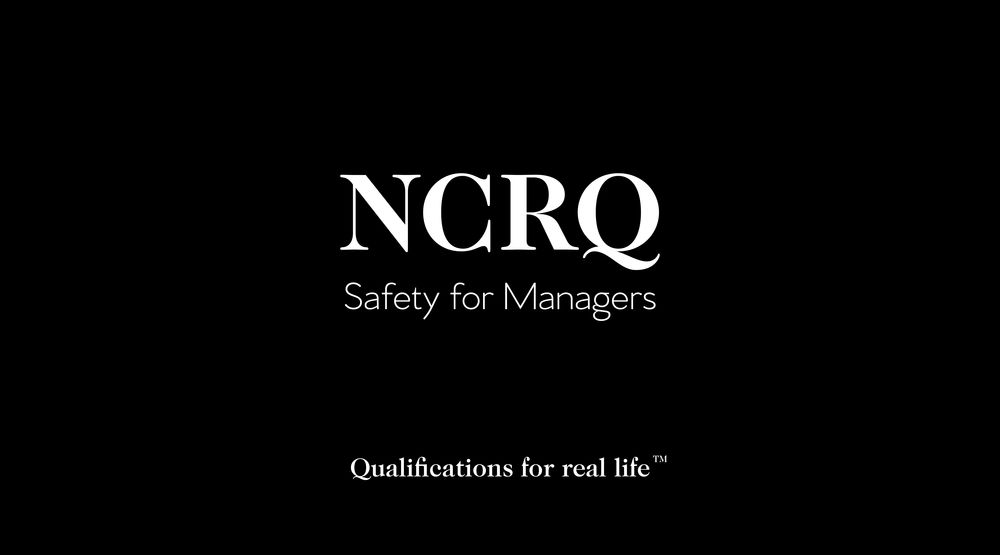 NCRQ Safety for Managers