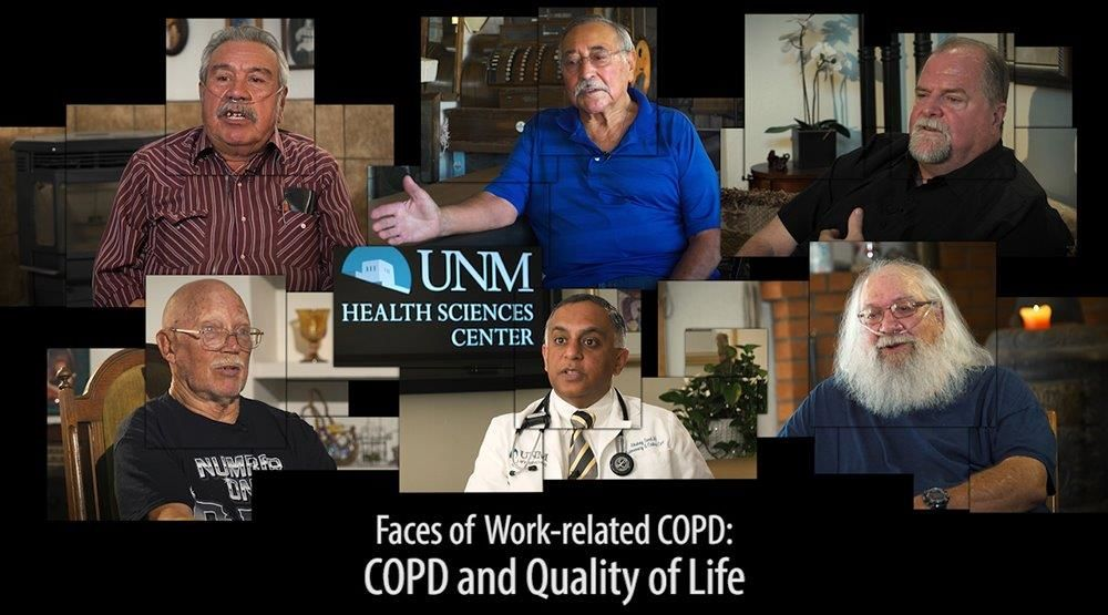 Faces of Work-related COPD - COPD and Quality of Life