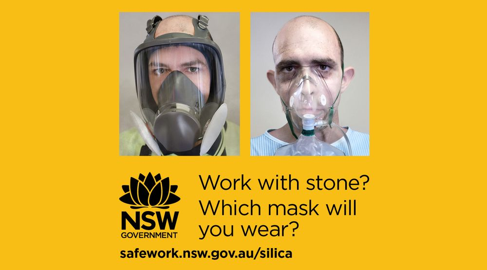 Which Mask Will You Wear? (Silica awareness campaign)