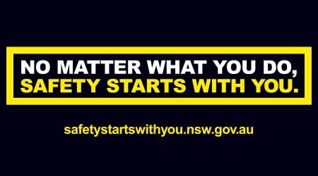 Safety Starts With You campaign