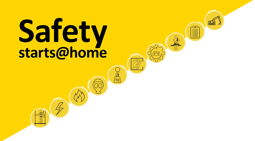 Safety starts @ home